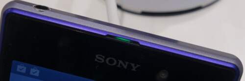 No speaker on top of Xperia Z1