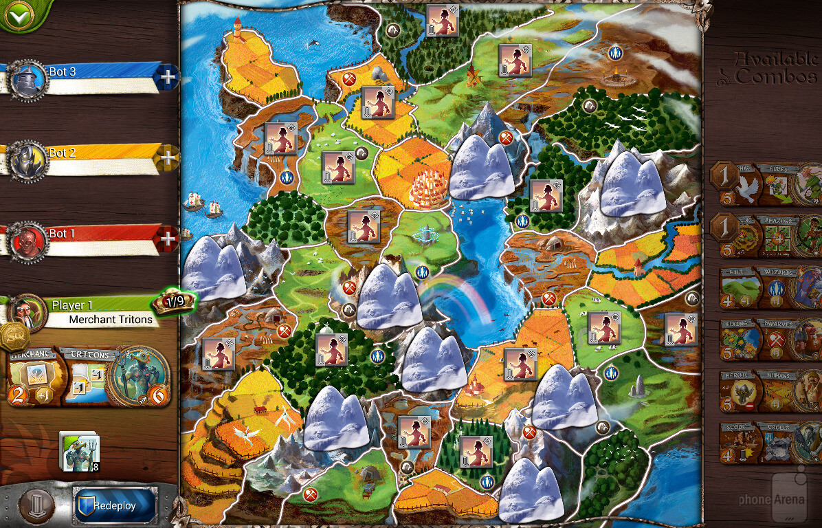 The four player map image from small world 2 review countless the four player map image from small world 2 review countless hours of board game fun gumiabroncs Choice Image