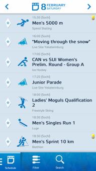 Sochi 2014 Guide on BB10