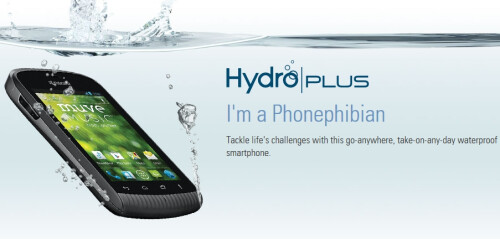 Kyocera Hydro Plus official images