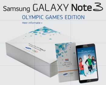 Samsung Galaxy Note 3 Olympic Games Edition revealed