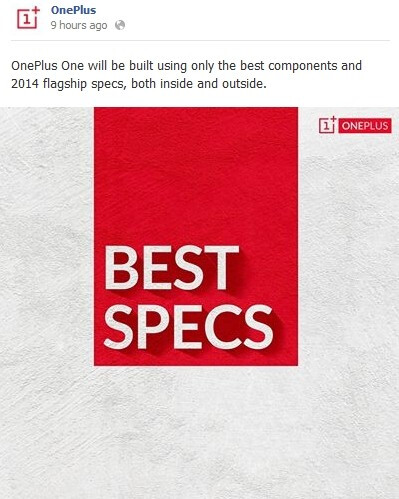 """CyanogenMod-based OnePlus One to feature """"the best components and 2014 flagship specs"""""""