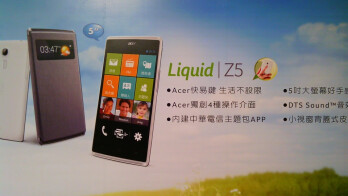 Android-based Acer Liquid Z5 with Windows Phone-like launcher released in Europe and Asia