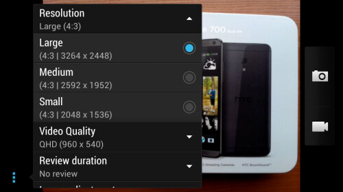 Hot to shoot full-resolution photos and videos with your HTC phone on Sense UI