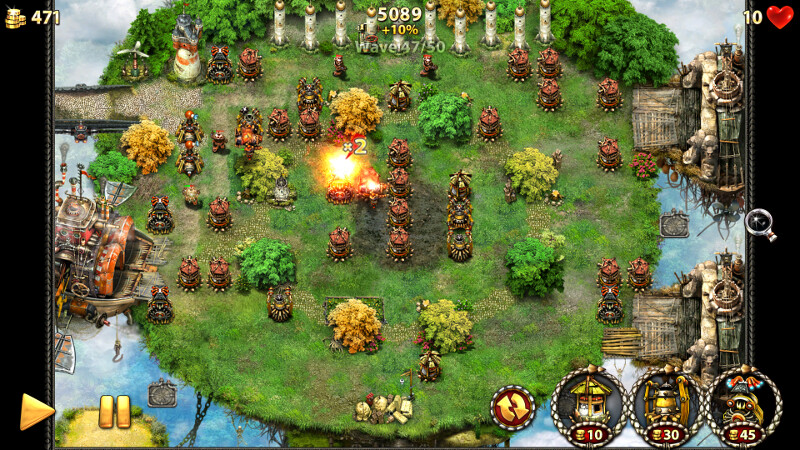 myth defense game free