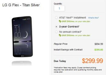 Pre-order the LG G Flex from AT&T