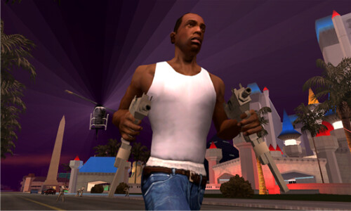 San Andreas for WP8 screenshots