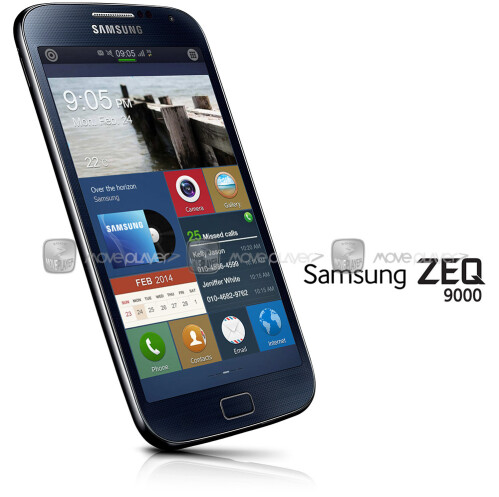 "Alleged photo of upcoming Samsung Tizen smartphone, ZEQ9000 ""Zeke"", leaks"