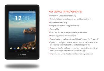 The Verizon Ellipsis 7 receives an update