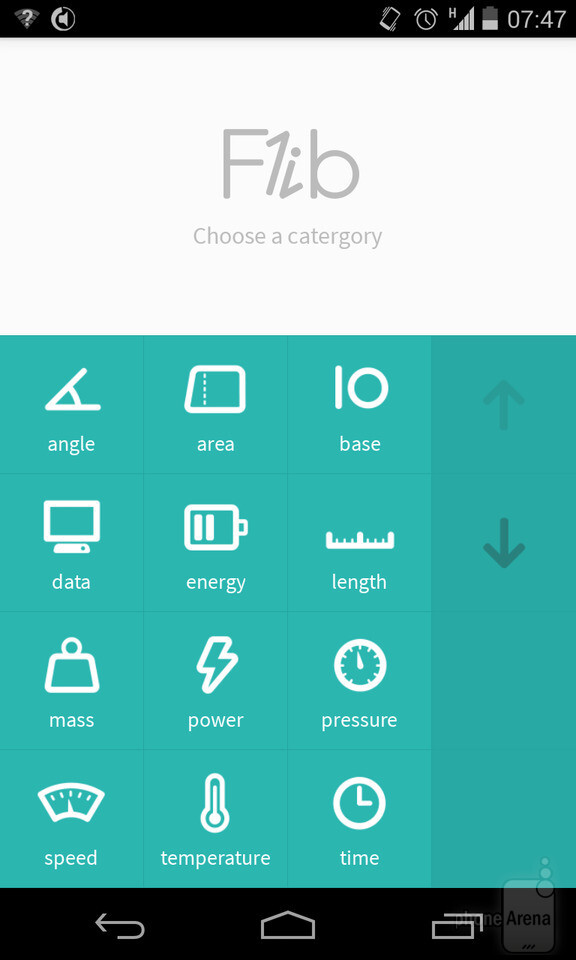 Flib is a simple, elegant, smart unit converter app for Android