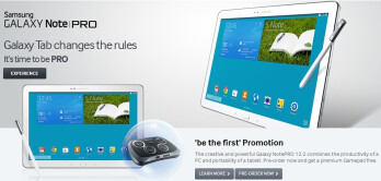 Samsung Galaxy NotePRO to be launched on February 4 in the UK, official pre-orders now open