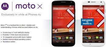 Motorola Moto X released in the UK - earlier than expected