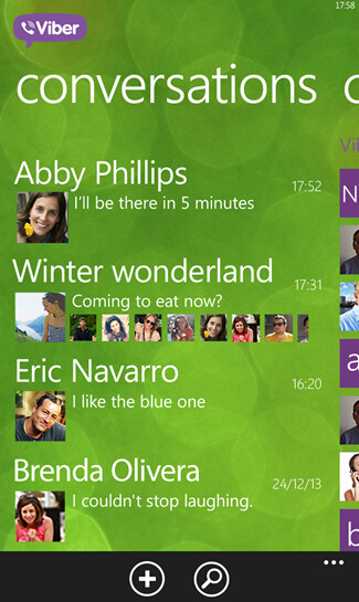 Viber 4.0 screenshots