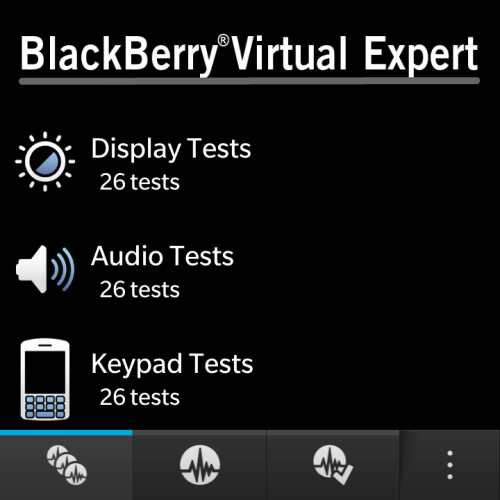 BlackBerry Virtual Expert screenshots