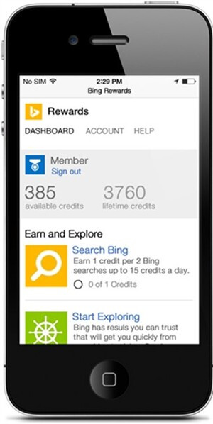 Microsoft launches Bing Rewards for Android and iOS, Windows Phone version on the horizon