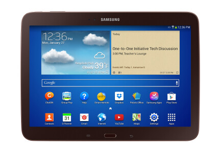 Samsung will be offering a new tablet next year, aimed at students - New Samsung tablet made for the classroom, will be in students' hands next school year