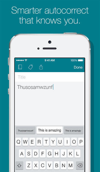 SwiftKey arrives to iOS in cahoots with Evernote, pretends to be a note-taking app