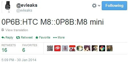 Surprise: HTC M8 may have a mini version