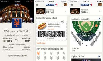 Last year, the New York Mets tested out iBeacon at CitiField