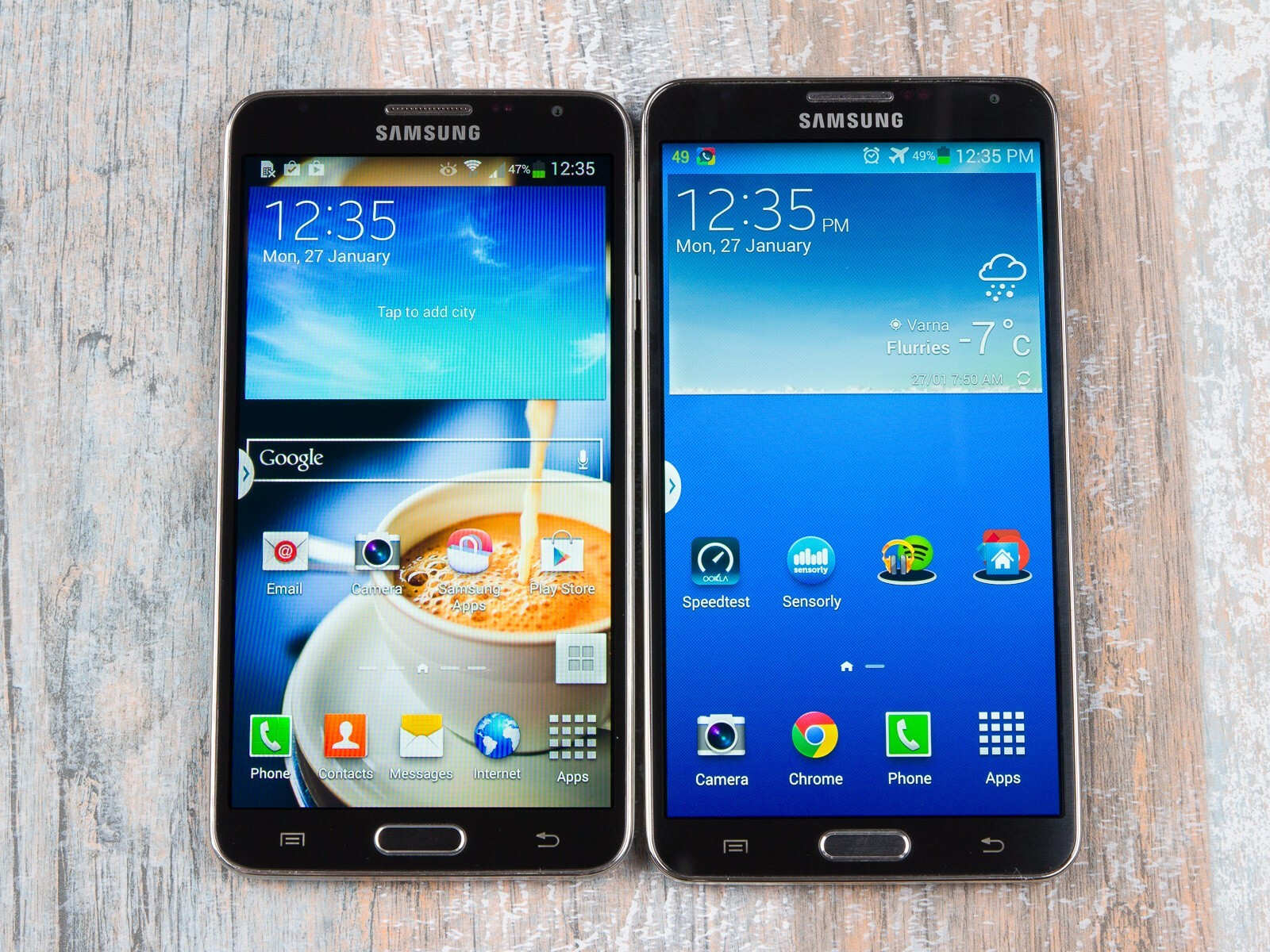 samsung galaxy note 3 neo vs galaxy note 3 first look. Black Bedroom Furniture Sets. Home Design Ideas