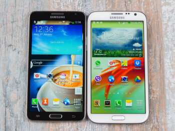Samsung Galaxy Note 3 Neo vs Note II: first look