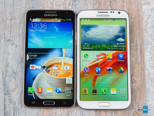 Note 3 Neo vs Note II