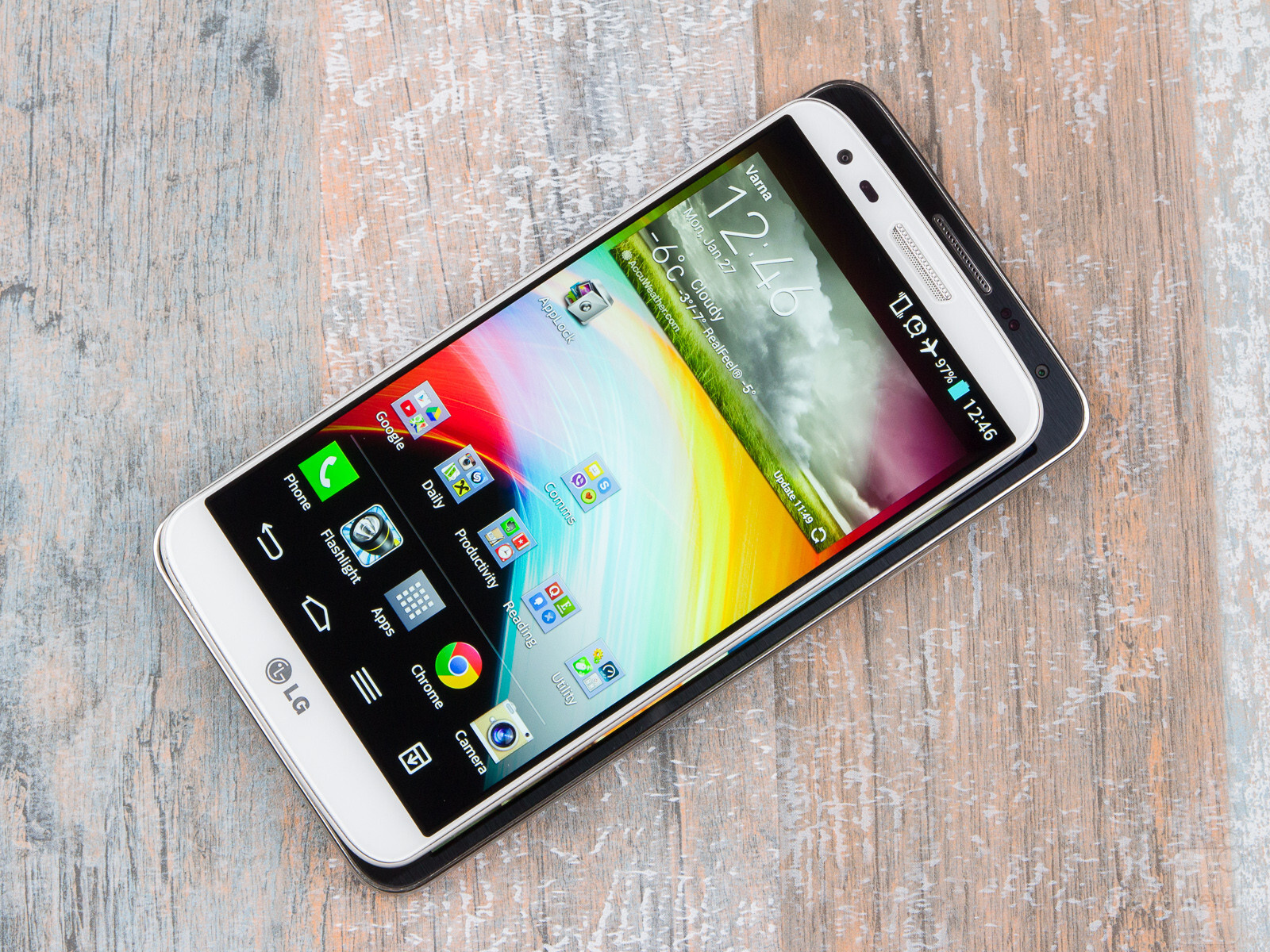 how to change app size on galaxy s5 neo