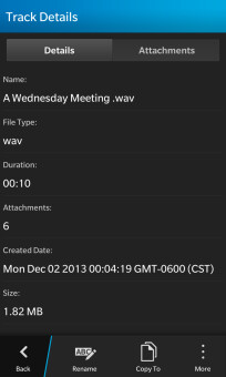 Parrot for BB10 updated with automatic call recording, optional media key, and more