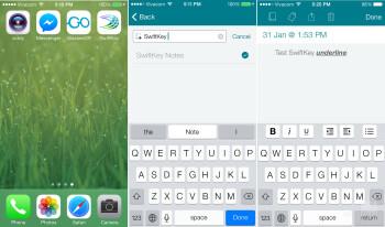 SwiftKey Note app review