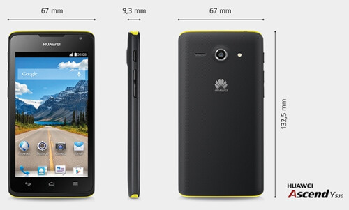 Huawei Ascend Y530 official photos