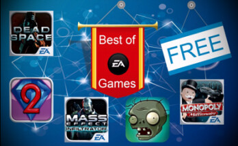 Get EA games free this month for your BlackBerry Z10, BlackBerry Z30 or BlackBerry Q10