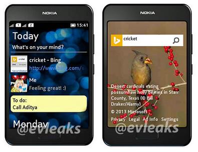 Leaked press photo of mystery Nokia device - Press shot of mystery dual SIM Nokia device could be the Nokia Asha 504