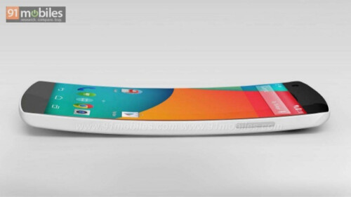 Google Nexus 6 concept by 91mobiles