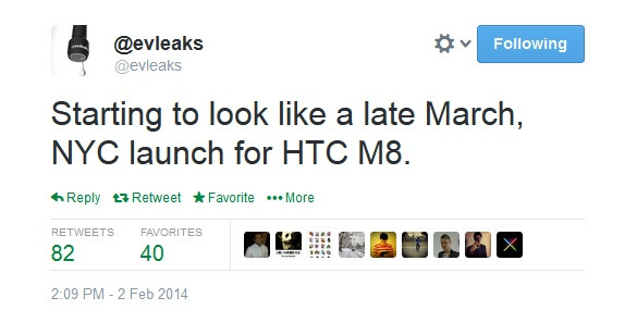HTC M8 may be formally announced in late March at New York City event