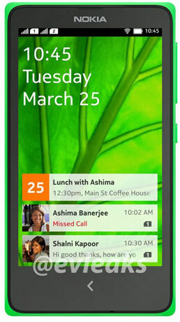 Nokia X's alleged Android UI