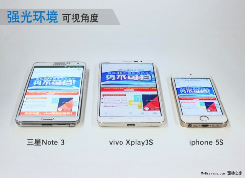 Here's what a 2560 x 1440 Quad HD phone screen looks like: Vivo Xplay3S reviews appear