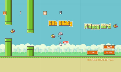 Flappy Bird - Android, iOS - Free