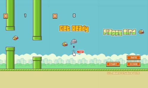Flappy Bird - Android, iOS - Free