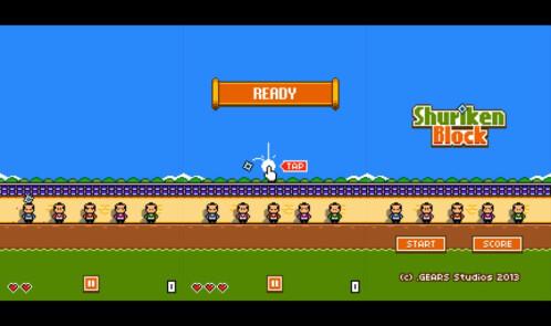 Shuriken Block - iOS - Free