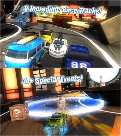 Table Top Racing - Android, iOS - Free