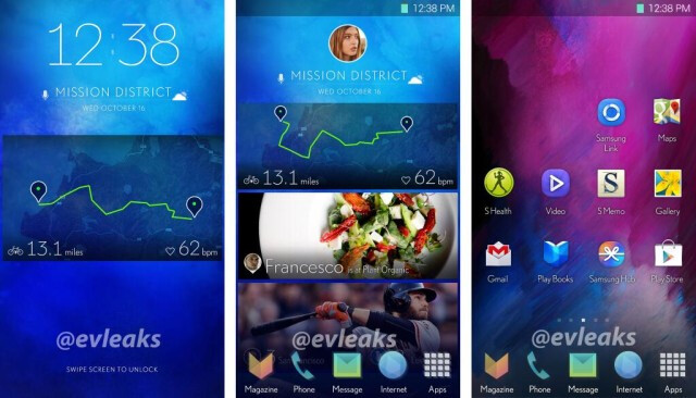 "Samsung is preparing a new TouchWiz interface that might debut on the Galaxy S5 - Samsung Galaxy S5 specs leak: 5.24"" Quad HD screen, 3200mAh battery"