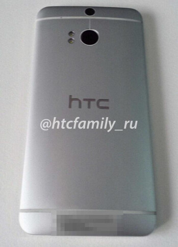 HTC M8 leaks in first real life picture, device sports a twin-sensor camera and dual LED flash