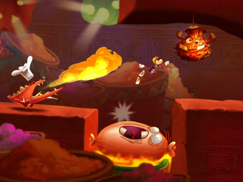 Rayman Fiesta Run screenshots