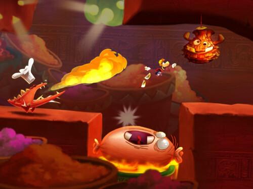 Rayman Fiesta Run screenshots