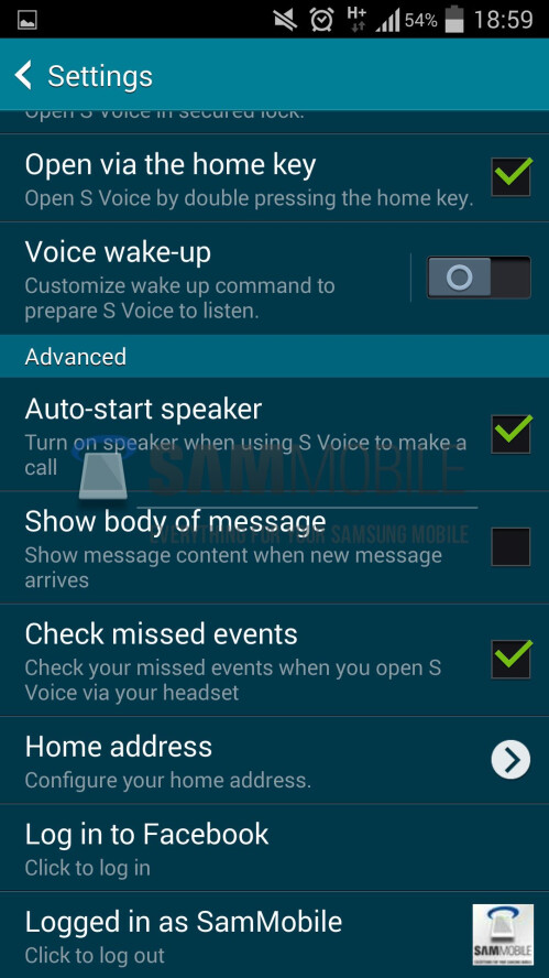 New Samsung S Voice assistant interface leaks, spews out responses much faster