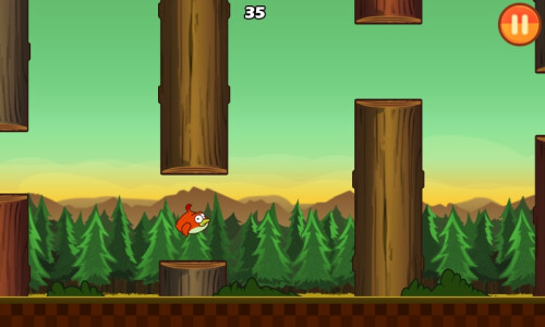 Clumsy Bird (Android) - very flappy, also angry