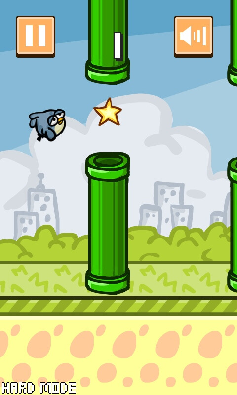 Flappy Bird HD (Android) - more pixels, more flappy glory!