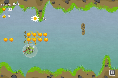 Flying Flea (Android & iOS) - jet-flap!