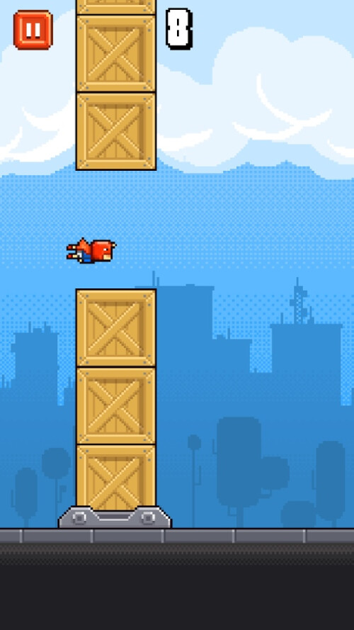 Ironpants (Android & iOS) - the flappy avenger!