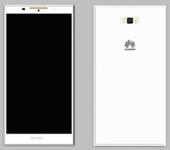 First alleged render of the upcoming Huawei P7 flagship outed, phone sports an angular design